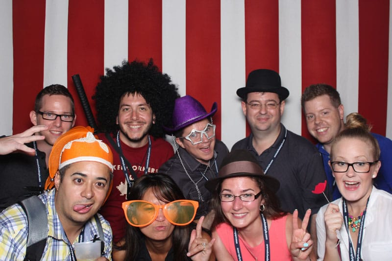 Front-End Conf photo booth